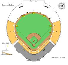 Ebbets Field Seating Chart Clems Baseball Roosevelt Stadium