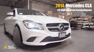 Mercedes Cla Led Lights Mercedes Cla High Low Beam D3s Hid Light Upgrade Led