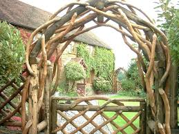 wooden garden arches rustic garden arches wooden creations rustic garden furniture and fencing from the wooden wooden garden arches