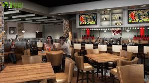 Inspiring Restaurant Bars Modern Design Manchester Uk 3d