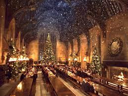 Hogwarts christmas, Harry potter ...