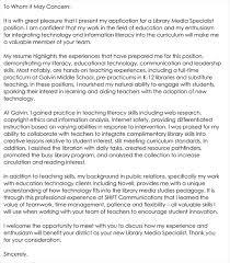 teacher cover letter 12 best sle