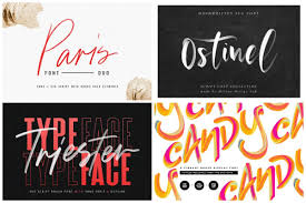 You can use these fonts to create custom styles. 21 Dazzling Svg Fonts To Make Your Designs Pop Hipfonts