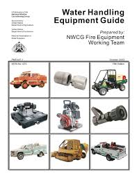 Water Handling Equipment Guide Prepared by: