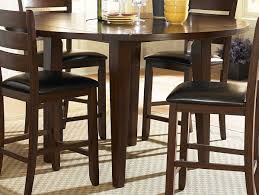 36 Round Dining Table With Leaf Round Counter Height Dining Table Steve Silver Company Mc600pt