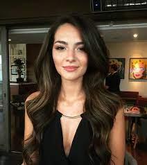 "3,822 Likes, 12 Comments - Melisa Aslı Pamuk 🦋 (@aslimelisapamuk) on  Instagram: ""Birtanem benim 😊💋 || #MelisaPa… | Brown hair inspiration,  Hair styles, Hairstyle"