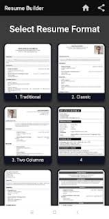 Pdf Resume Builder Builder Cv Maker Formats For Resume Template Free Pdf Letter