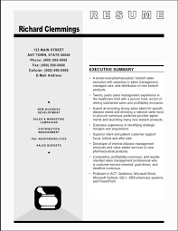Sample Resume Pharmaceutical Executive