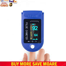 <b>DHL UPS Digital Finger</b> Oximeter Portable Electronic LED Display ...