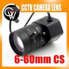 """1.3MP <b>1/3</b>"""" <b>6 60mm</b> F1.6 <b>CS</b> Mount DC Auto Iris Varifocal IR <b>CCTV</b> ..."""