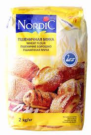<b>Мука пшеничная Nordic</b> в/с 2кг - купить с доставкой в интернет ...