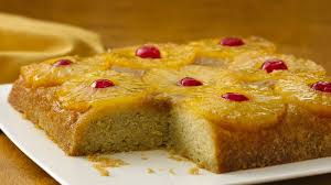 gluten free pineapple upside down cake
