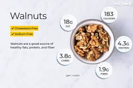 Snacks Calories Chart Walnuts Nutrition Facts Calories And Health Benefits