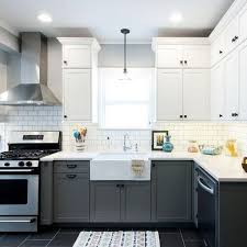 20 Attractive Black And White Kitchen Cabinet Ideas Coodecor