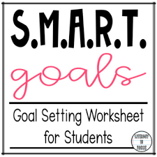 Goal Setting Template Amazing SMART Goals Student Planning Template By Literacy In Focus TpT