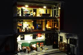 lego lighting. Brickstuff Lighting Kit For The LEGO Ghostbusters Firehouse HQ | By Lego G
