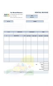Rent Invoice Sample Magnificent Invoice Template Images