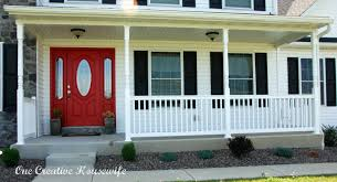 ... Incredible Design Ideas For Front Porch Decoration For Your House :  Outstanding Home Exterior And Front ...