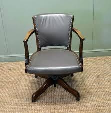vintage office chair for sale. Vintage Leather Office Chair Desk Surprising Idea Wood . For Sale R