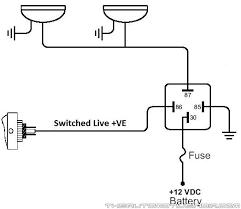 simple horn relay diagram data wiring diagrams \u2022 horn wiring diagram Horn Wiring Diagram #42