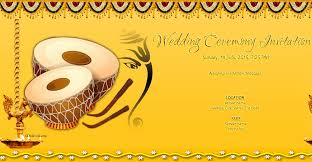 Free Indian Wedding Invitation Card Online Invitations