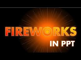 Fireworks In Powerpoint Cool Powerpoint Animation Effect Tutorial