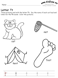 Letter T Worksheets For Preschool Free Worksheets Library ...