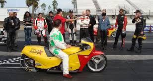 motorcycle drag racing school star racing george bryce
