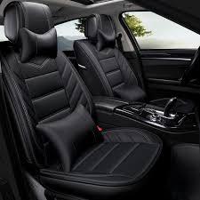 PU leather <b>car seat cover auto seats</b> covers for VW Amarok Bora CC ...