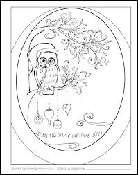 Printable Cartoon Owl Coloring Pages Printable Owl Coloring Pages