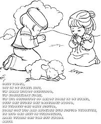 Kleurplaat Onze Vader Creatief Met De Bijbel Kids Bijbel
