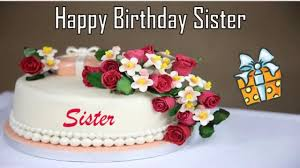 Happy Birthday Sister Image Wishes Youtube