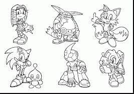 Small Picture Sonic The Hedgehog Coloring Pages Pdf Coloring Coloring Pages