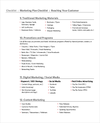 Marketing Checklist Template - 10+ Free Word, Pdf Documents Download ...
