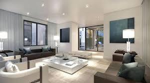 dark wood flooring exposed wall plain cream sofa grey stone white brick furniture corner living room c