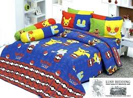 comforter twin bedding set with and pokemon canada 4 cute include quilt bed duvet cover bedspread twin sheet set cotton cartoon bedding gift kids duvet