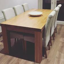 extending solid oak dining table 6 chairs. full image for kuba solid oak dining table and 6 chairs extending