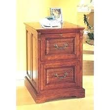 wooden 2 drawer vertical
