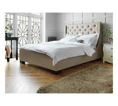 Buy Heart of House Levena Quilted Double Bed Frame - Natural at ... & Buy Heart of House Levena Quilted Double Bed Frame - Natural at Argos.co. Adamdwight.com