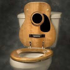 cushioned toilet seat covers. my new favourite: fancy - guitar toilet seat cover by jammin johns cushioned covers p