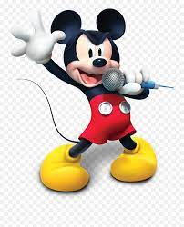 Mickey Mouse Clubhouse Sticker Book Disney Lol - Mickey Mouse Clubhouse On  Png Emoji,Singing Emoji Clipart - Free Emoji PNG Images - EmojiSky.com