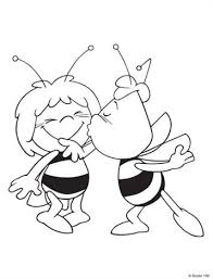 Kids N Funcom 55 Coloring Pages Of Maya The Bee
