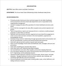 Resume Duties Of Sales And Marketing Manager Best Inspiration For