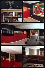 49ers Room Designs San Francisco 49ers Man Cave 49ers Room Man Cave Man