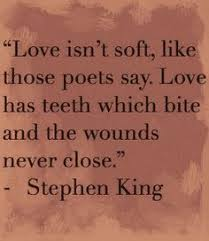 Stephen King Quotes On Love Extraordinary Whatever This Guy Thinks Usually Scares The Hell Out Of Me But This
