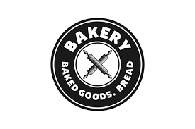 Crossed Rolling Pin Vintage Bakery Logo Designs Inspiration Vector