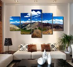 Large Painting For Living Room Popular Large Mountain Buy Cheap Large Mountain Lots From China