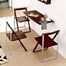 complete small dining area with wooden folding dining table and comfy oak chairs on cream flooring benefits small dining table bedroomexciting small dining tables mariposa valley farm