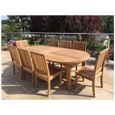 Teak Garden Dining Chairs