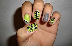 Fingernail designs at home - how you can do it at home. Pictures ...